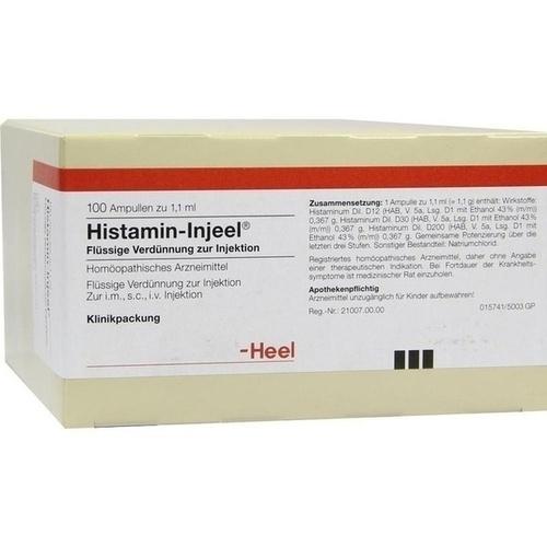 HISTAMIN INJ HOM ALL, 100 ST, Biologische Heilmittel Heel GmbH