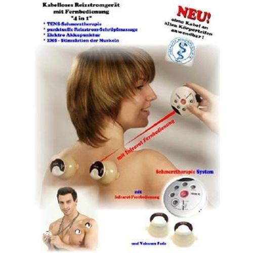 TENS/EMS/Schröpfmassage+Akupunkturgerät Kabellos, 1 ST, Groß GmbH