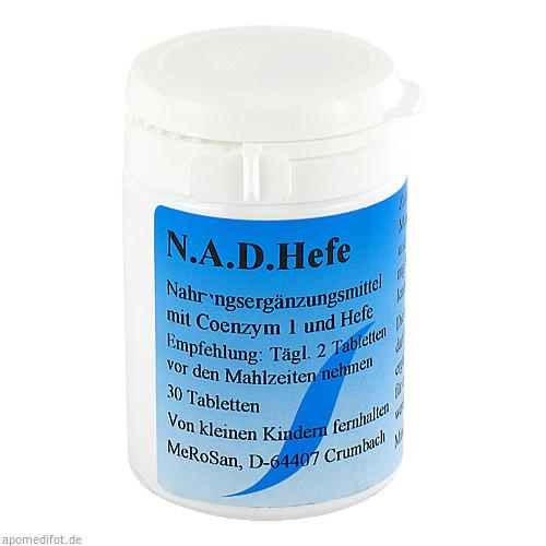 N.A.D.Hefe 5mg, 30 ST, merosan GmbH
