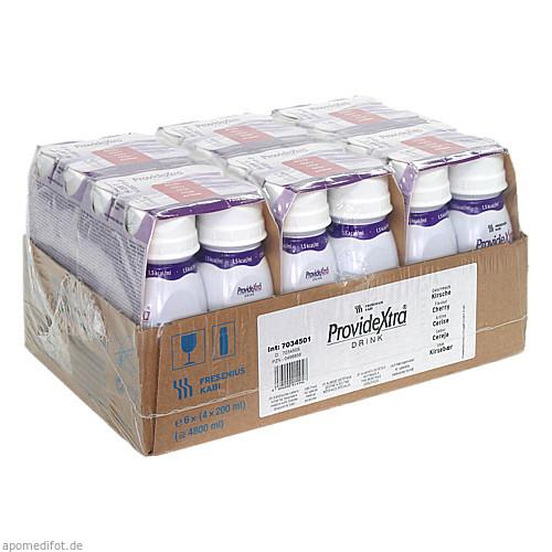 ProvideXtra DRINK Kirsche Trinkflasche, 6X4X200 ML, Fresenius Kabi Deutschland GmbH