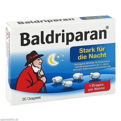Baldriparan stark für die Nacht, 30 ST, Pfizer Consumer Healthcare GmbH