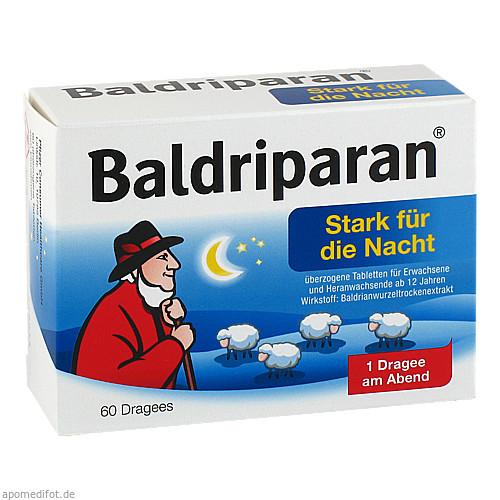 Baldriparan stark für die Nacht, 60 ST, GlaxoSmithKline Consumer Healthcare GmbH & Co. KG