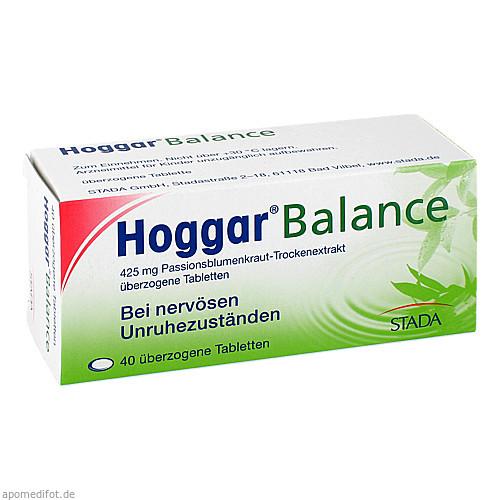 HOGGAR Balance überzogene Tabletten, 40 ST, STADA GmbH