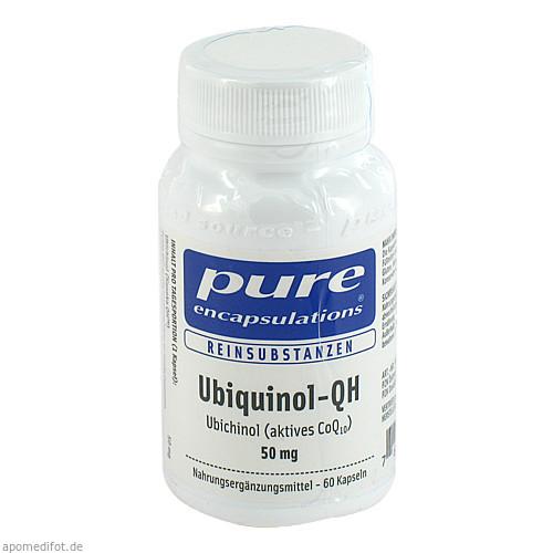 PURE ENCAPSULATIONS UBIQUINOL-QH 50MG, 60 ST, PRO MEDICO HANDELS GMBH