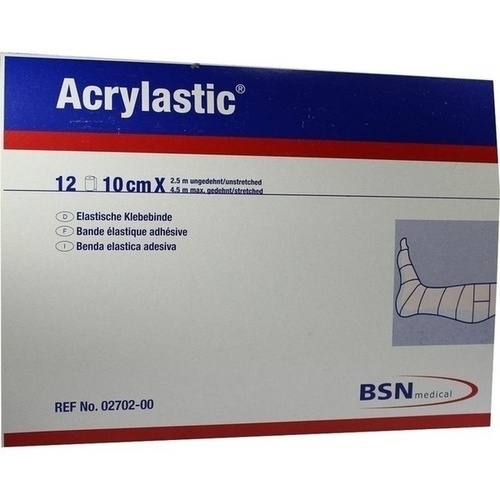 ACRYLASTIC 2.5mx10cm, 12 ST, Bsn Medical GmbH