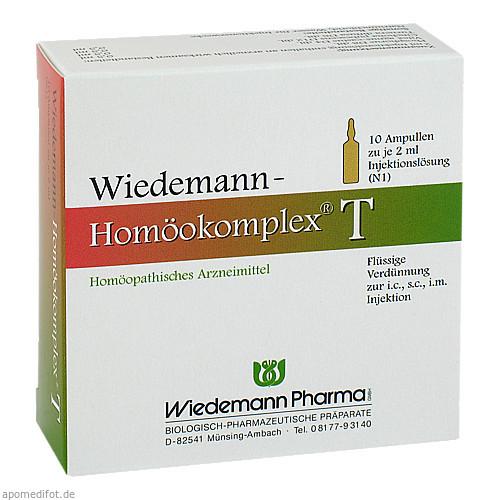 Wiedemann Homöokomplex T, 10X2 ML, Wiedemann Pharma GmbH