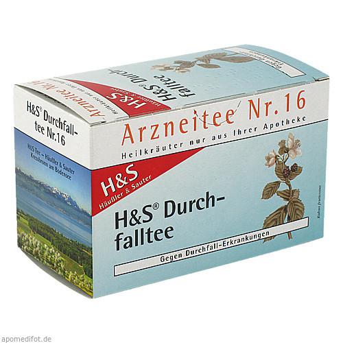 H&S Durchfalltee, 20X1.5 G, H&S Tee - Gesellschaft mbH & Co.