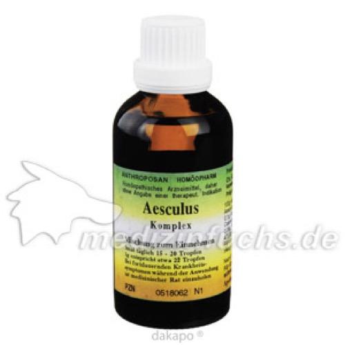 Aesculus Venen-Verstopfungscomplex, 50 ML, Anthroposan Homöopharm Produktionsgesellschaft mbH