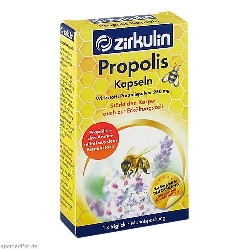 Zirkulin Propolis-Kapseln, 30 ST, DISTRICON GmbH