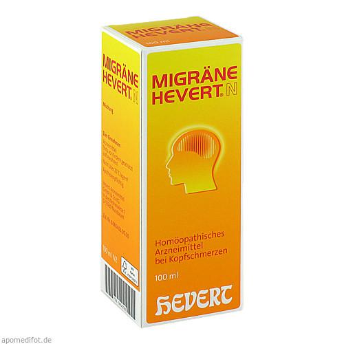 Migräne Hevert N, 100 ML, Hevert Arzneimittel GmbH & Co. KG