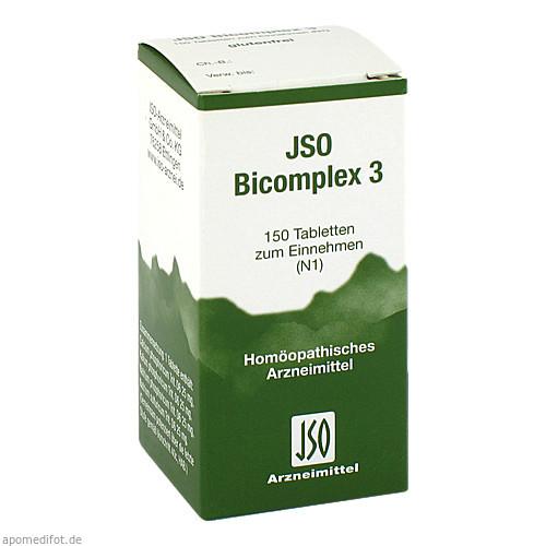JSO BICOMPLEX HEILM NR 3, 150 ST, Iso-Arzneimittel GmbH & Co. KG