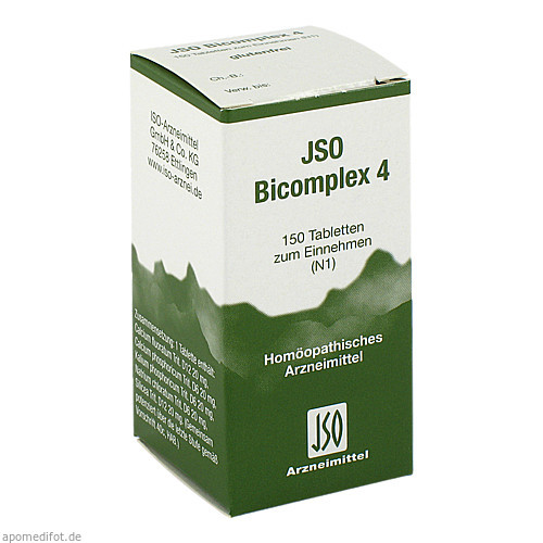 JSO BICOMPLEX HEILM NR 4, 150 ST, Iso-Arzneimittel GmbH & Co. KG