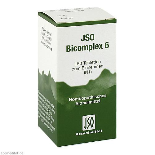 JSO BICOMPLEX HEILM NR 6, 150 ST, Iso-Arzneimittel GmbH & Co. KG