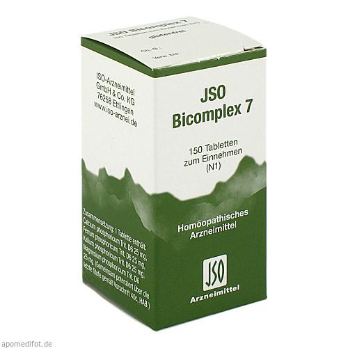 JSO BICOMPLEX HEILM NR 7, 150 ST, Iso-Arzneimittel GmbH & Co. KG