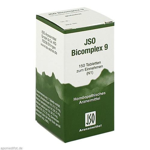 JSO BICOMPLEX HEILM NR 9, 150 ST, Iso-Arzneimittel GmbH & Co. KG