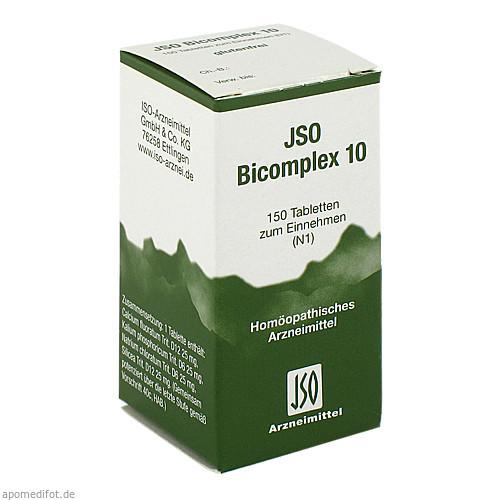 JSO BICOMPLEX HEILM NR 10, 150 ST, Iso-Arzneimittel GmbH & Co. KG