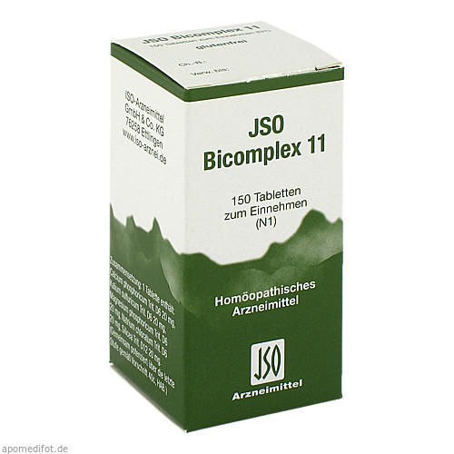 JSO BICOMPLEX HEILM NR 11, 150 ST, Iso-Arzneimittel GmbH & Co. KG