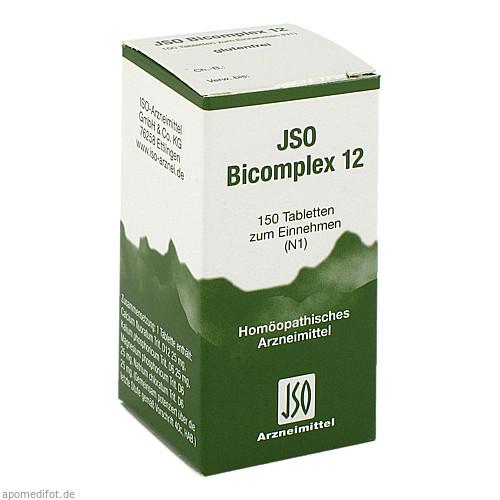JSO BICOMPLEX HEILM NR 12, 150 ST, Iso-Arzneimittel GmbH & Co. KG
