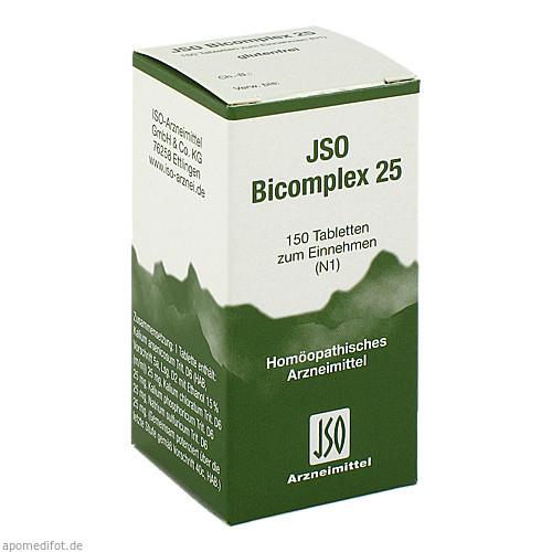 JSO BICOMPLEX HEILM NR 25, 150 ST, Iso-Arzneimittel GmbH & Co. KG