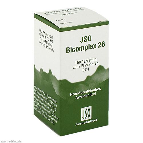 JSO BICOMPLEX HEILM NR 26, 150 ST, Iso-Arzneimittel GmbH & Co. KG