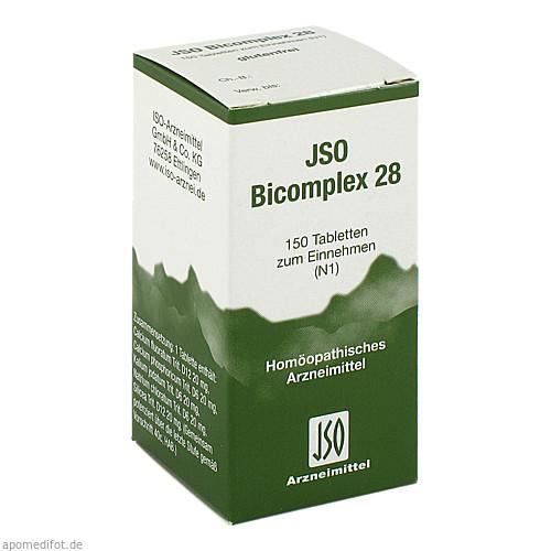 JSO BICOMPLEX HEILM NR 28, 150 ST, Iso-Arzneimittel GmbH & Co. KG