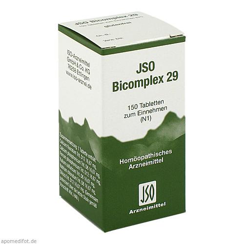 JSO BICOMPLEX HEILM NR 29, 150 ST, Iso-Arzneimittel GmbH & Co. KG