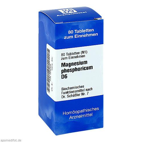 BIOCHEMIE 7 MAGN PHOS D 6, 80 ST, Iso-Arzneimittel GmbH & Co. KG