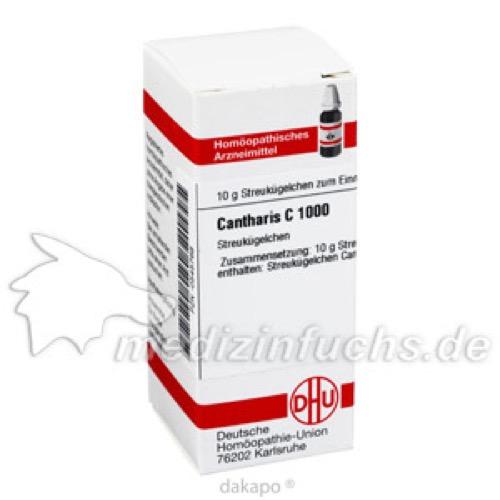 CANTHARIS C1000, 10 G, Dhu-Arzneimittel GmbH & Co. KG