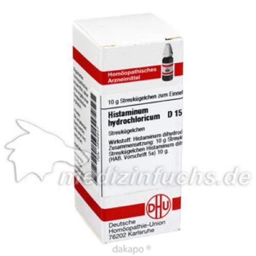 HISTAMINUM HYDROCHLOR D15, 10 G, Dhu-Arzneimittel GmbH & Co. KG
