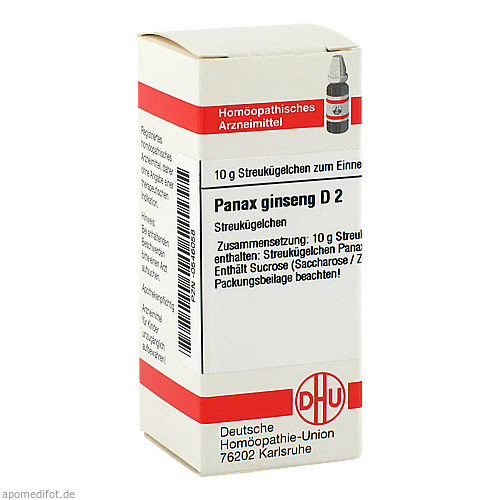 PANAX GINSENG D 2, 10 G, Dhu-Arzneimittel GmbH & Co. KG