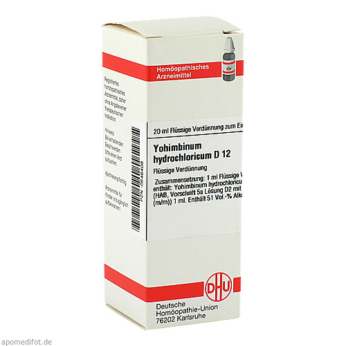 YOHIMBINUM HYDROCH D12, 20 ML, Dhu-Arzneimittel GmbH & Co. KG