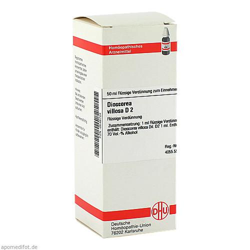 DIOSCOREA VILLOS D 2, 50 ML, Dhu-Arzneimittel GmbH & Co. KG