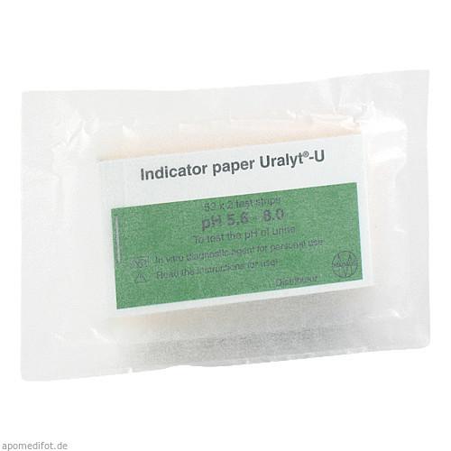 Uralyt U Indikatorpapier, 52X2 ST, Meda Pharma GmbH & Co. KG
