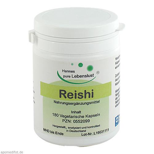 Reishi Vegi Kapseln, 180 ST, G & M Naturwaren Import GmbH & Co. KG