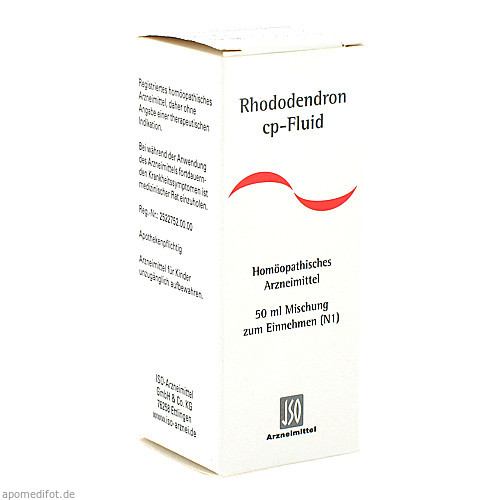 RHODODENDRON CP FLUID, 50 ML, Iso-Arzneimittel GmbH & Co. KG