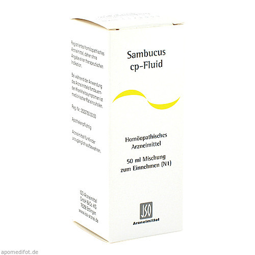 SAMBUCUS CP FLUID, 50 ML, Iso-Arzneimittel GmbH & Co. KG