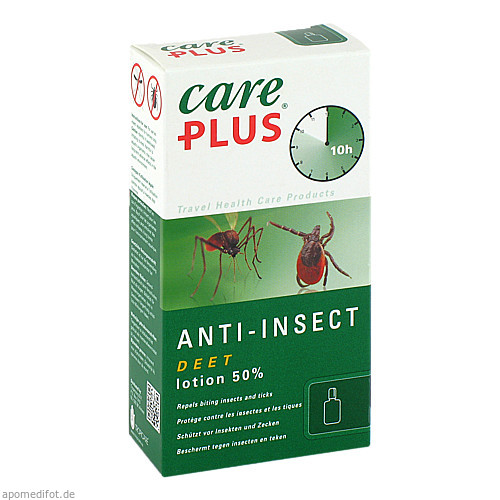 Care Plus Deet-Anti-Insect Lotion 50%, 50 ML, Tropenzorg B.V.