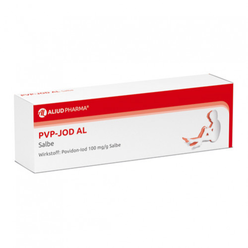 PVP-Jod AL Salbe, 25 G, Aliud Pharma GmbH