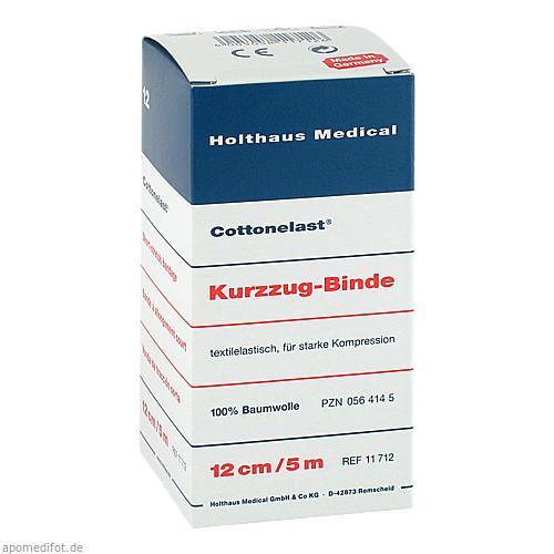 Kurzzugbinde Cottonelast 12cmx5m, 1 ST, Holthaus Medical GmbH & Co. KG