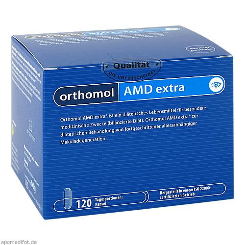 ORTHOMOL AMD extra, 120 ST, Orthomol Pharmazeutische Vertriebs GmbH
