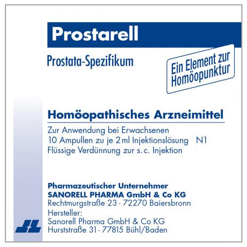 Prostarell, 10X2 ML, sanorell pharma GmbH & Co KG