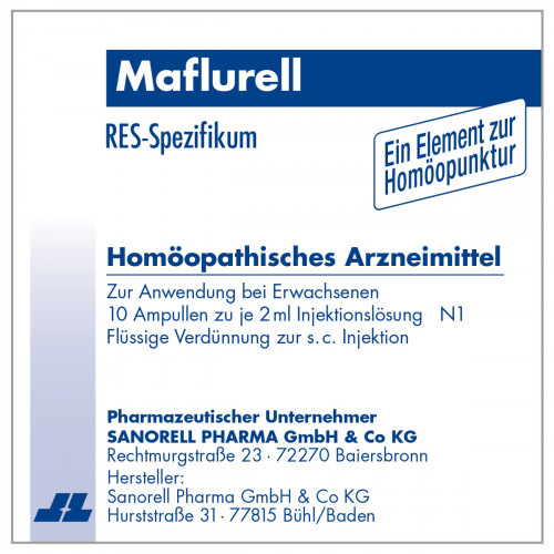 Maflurell, 10X2 ML, sanorell pharma GmbH & Co KG