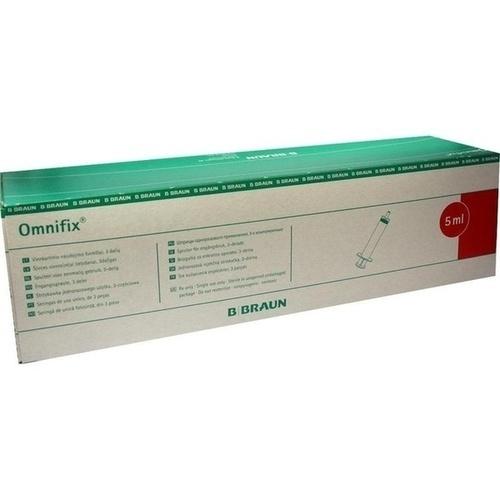 OMNIFIX Luer-Lock Solo Latexfrei, 100X5 ML, B. Braun Melsungen AG