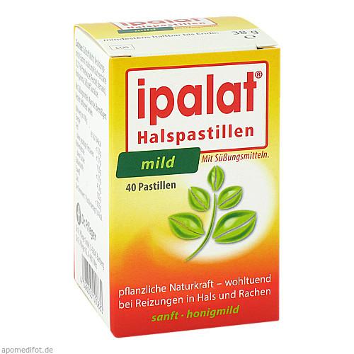 Ipalat Halspastillen mild, 40 ST, Dr.R.Pfleger GmbH