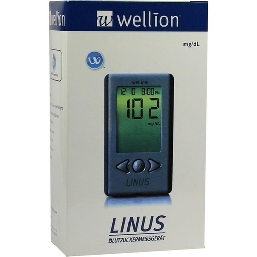Wellion Linus Blutzuckermessgerät Set mg/dl, 1 ST, Med Trust GmbH
