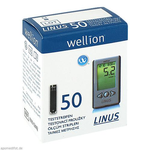Wellion Linus Blutzuckerteststreifen, 50 ST, Med Trust GmbH