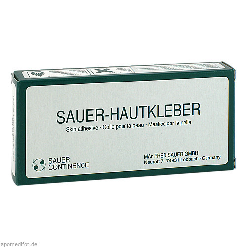 Hautkleber SAUER 5001, 2X28 G, Manfred Sauer GmbH