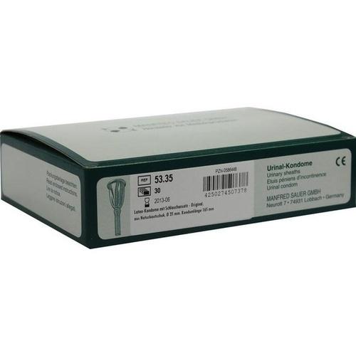Kondome m Schlauchans 5335, 30 ST, Manfred Sauer GmbH