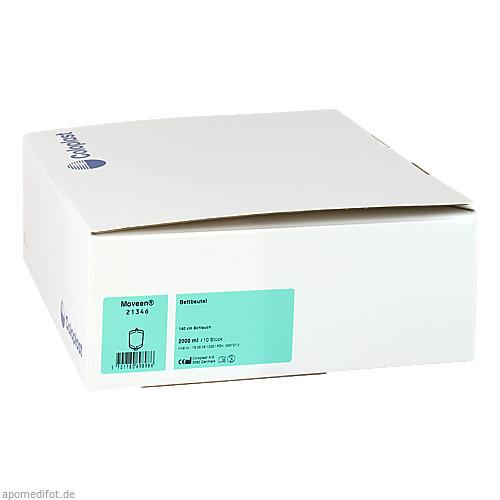 Conveen Bettbeutel 21346, 10X2000 ML, Coloplast GmbH