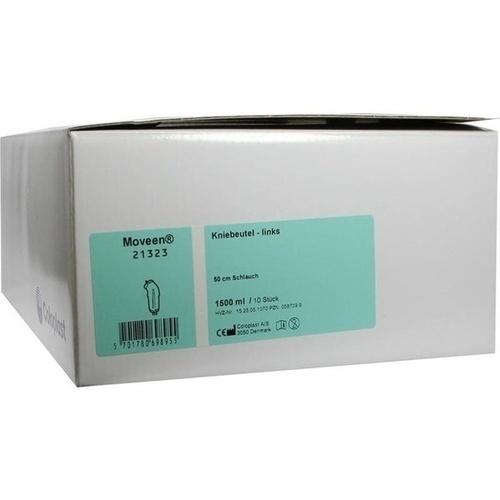 Conveen-Kniebeutel 21323, 10X1500 ML, Coloplast GmbH
